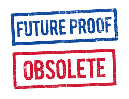 obsolete: Future proof and Obsolete stamps