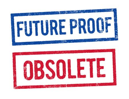 Preparado para el futuro y Sellos obsoletos