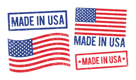 inkpad: Made in USA stamps