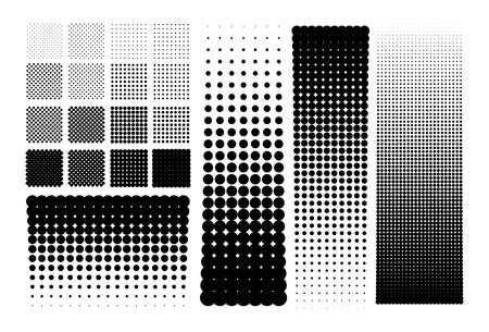 halftones: Halftones dots