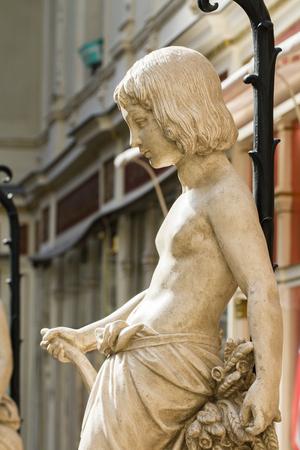 Passage Pommeraye statue (Nantes  France)