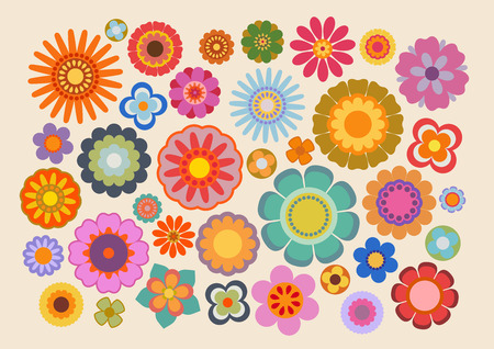 the sixties: Vintage flowers (part 4)