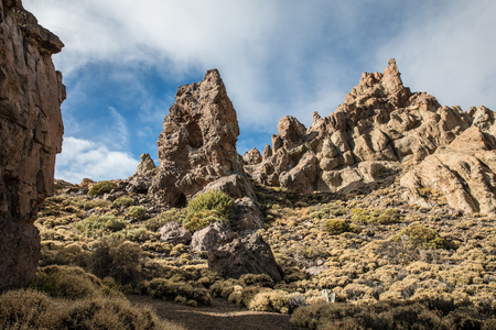 Los Roques de García (Tenerife - Spain)