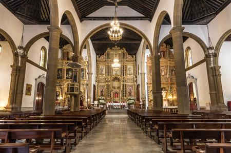 pena: Chruch Nuestra Senora de la Pena de Francia in Puerto de la Cruz (Tenerife, Spain) Editorial