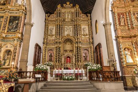 Chruch Nuestra Senora de la Pena de Francia in Puerto de la Cruz (Tenerife, Spain) Editorial