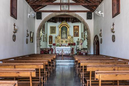 religious building: Parish San Amaro in Puerto de la Cruz, Tenerife, Spain Editorial