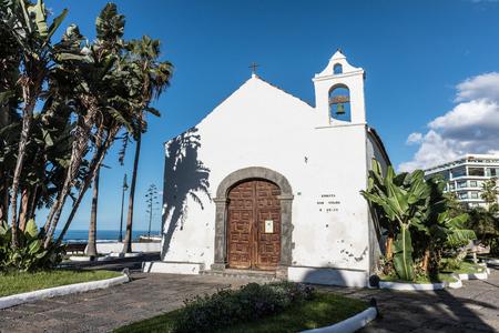 religious building: Little chapel Ermita de San Telmo in Puerto de la Cruz, Tenerife, Spain