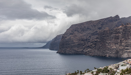 canary: Cliff of Los Gigantes in Tenerife (Canary Islands, Spain)