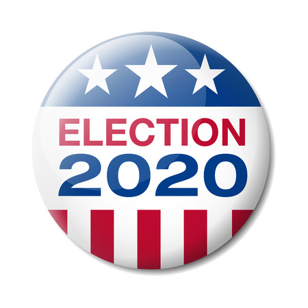 Badge Stati Uniti d'America Elezioni 2020