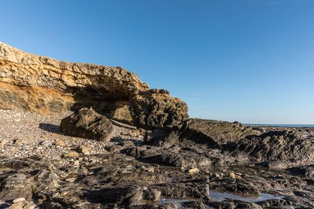 littoral: Ark rock formation (Pointe du Payre, France) Stock Photo