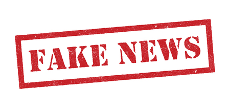 incorrect: Fake news red stamp