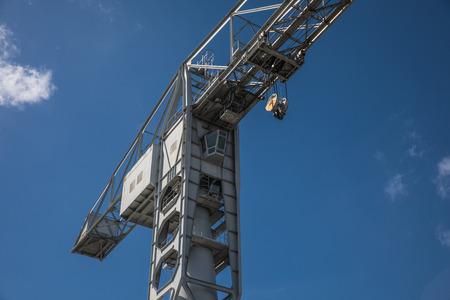 grey: Gray crane titan in Nantes (France)