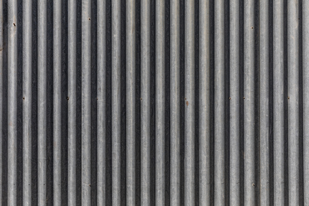 industry: Metal corrugated sheet texture Stock Photo