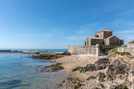 saint nicolas: Saint-Nicolas priory in la Chaume Les Sables d`Olonne, France