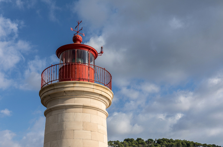 Lighthouse of Port Andratx in Majorca (Balearic Islands, Spain)