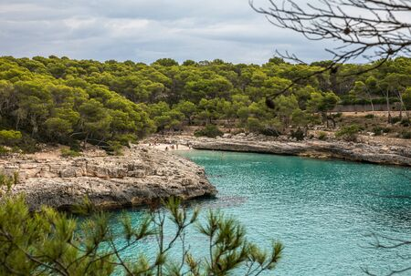 Cala Mondrago Santanyi on Majorca (Balearic Islands, Spain)