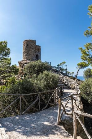 Torre del Verger in Banyalbufar, Majorca (Balearic Islands, Spain)