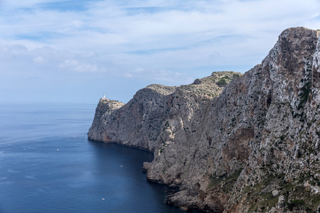 View of Cap Formentor in Pollenca, Majorca (Balearic Islands, Spain)