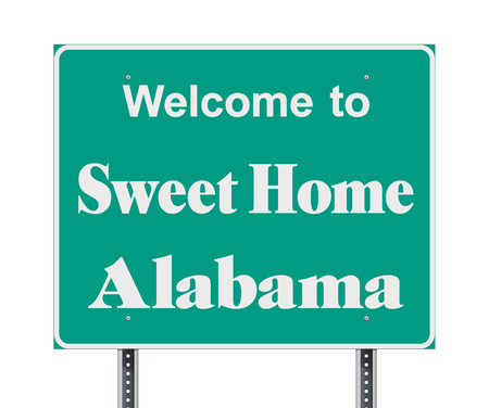 Welcome to Sweet Home Alabama road sign