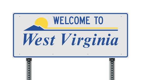 Bienvenue au panneau de signalisation de Virginie-Occidentale