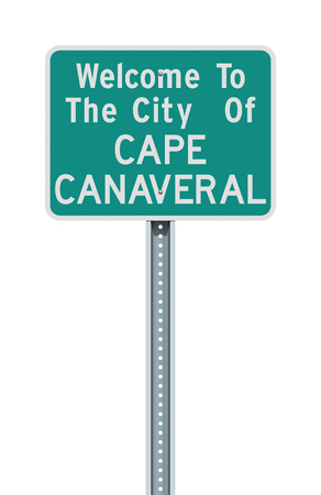 City of Cape Canaveral road sign