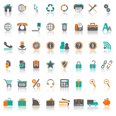 Icons Series 1, Set 1 Stock Vector - 18104179