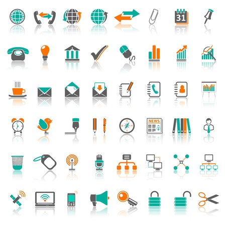Icons Series 1, Set 2 Stock Vector - 18104182