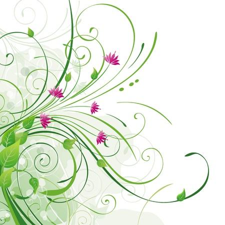Vektor Floral Background