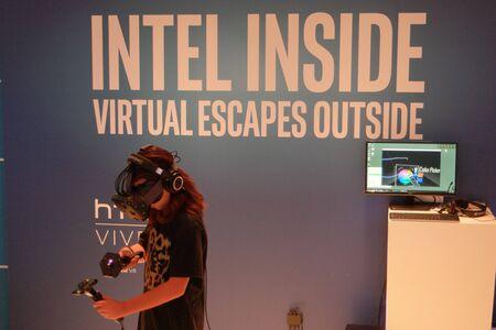 intel: IFA 2015 Berlin, Germany - Intel VR
