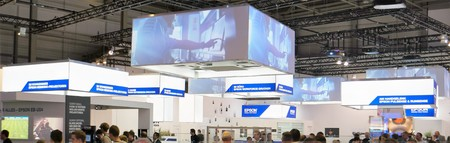 philips: IFA 2015 Berlin, Germany - Epson stand Editorial