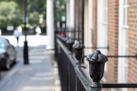 The fence on the street Reklamní fotografie