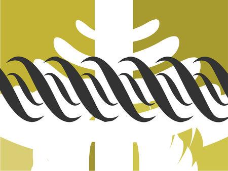 A vector design for a background or wallpaper. Stock Vector - 773427