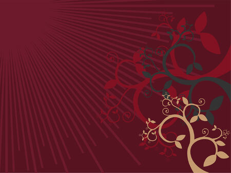 A vector design for a background or wallpaper. Stock Vector - 777042