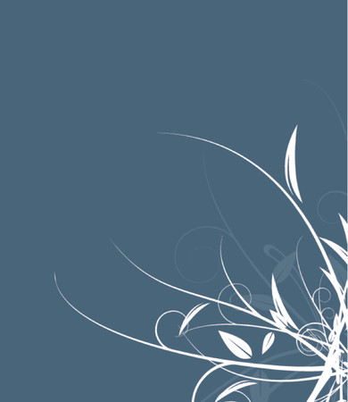 to scatter: A vector floral design against a solid background.