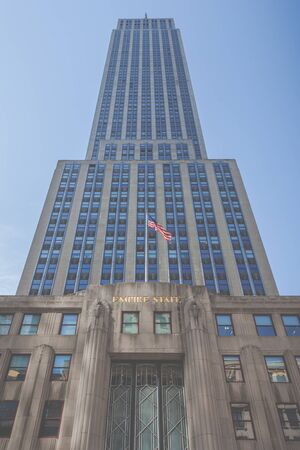 Empire state building Editorial