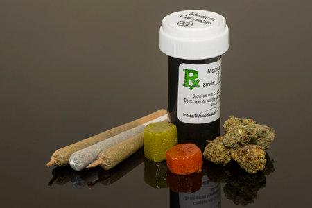 marihuana: Cannabis Medicinal Foto de archivo