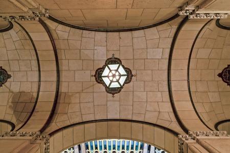 Moorish Ceiling Perspective