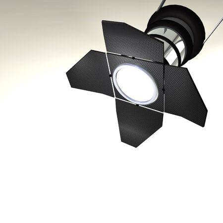 Studiolight on white Background