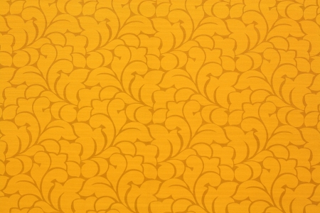 orange background on wallpaper of thai pattern photo