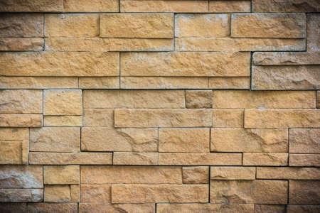 closeup of brick wall texture use for background photo