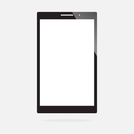 blank screen: Blank screen of smartphone Illustration
