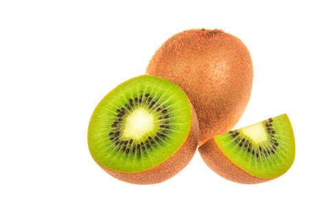 extreme macro: Close-up of kiwi fruit Extreme macro shoot selective focus
