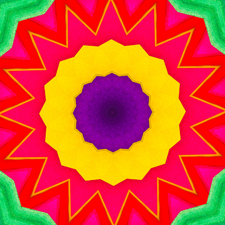 kaleidoscopic: abstract kaleidoscopic background Stock Photo