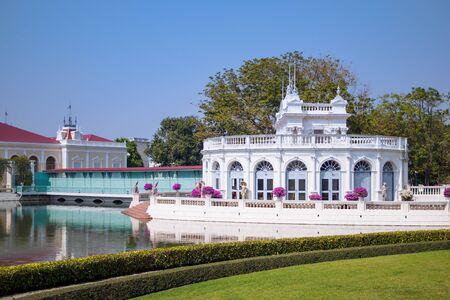 Ayutthaya,Thailand 20-01-2018 : landscape in Bang Pa-in Royal Palace also known as the Summer Palace at Ayutthaya Province.