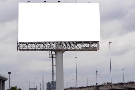 blank billboard for outdoor advertising poster Banco de Imagens