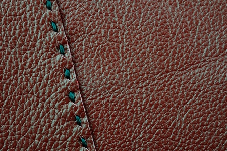 Close up of leather texture for background photo