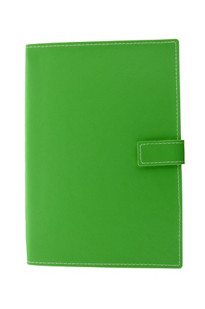 green note book  photo