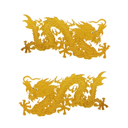 Dragon isolated on white background Imagens