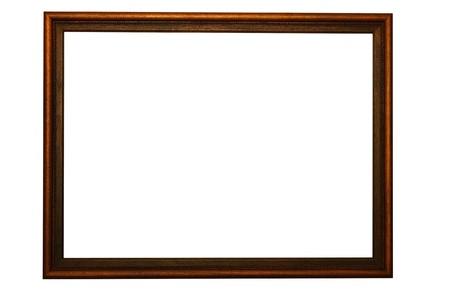 old frame made from wooden
