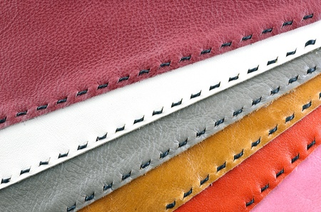 colorful leather texture for background